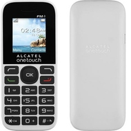 Alcatel 1016D One Touch Black Pure White