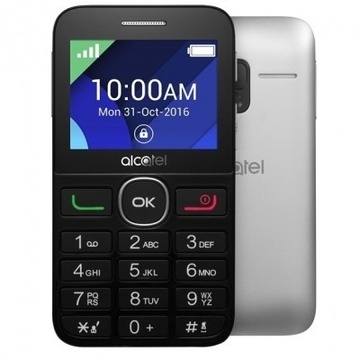 Alcatel 2008G Black Metal Silver