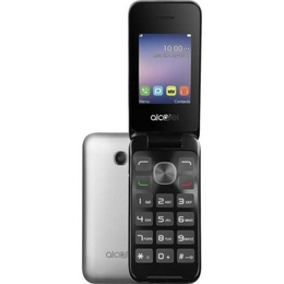 Alcatel 2051D Black Metal Silver