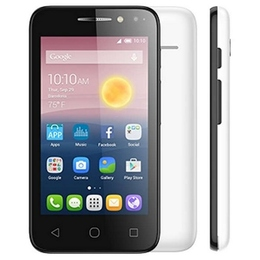 Alcatel 4034D One Touch PIXI 4 Black White