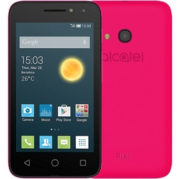 Alcatel 4034D One Touch PIXI 4 Black Pink
