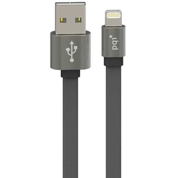 Кабель PQI i-Cable USB2.0-Lightning Metallic Gray (1м)