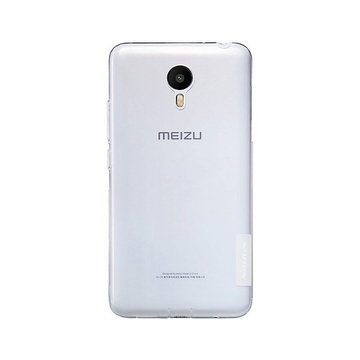 Чехол Nillkin Clear Cover White (для Meizu M2 Note)