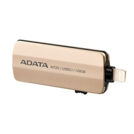 Накопитель USB3.1 A-Data AI720 i-Memory 128гб Gold