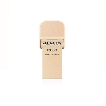 Накопитель USB3.1 A-Data AI920 i-Memory 128гб Gold