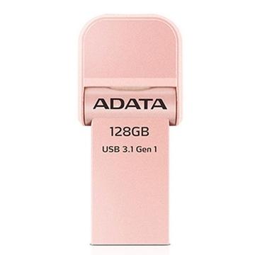 Накопитель USB3.1 A-Data AI920 i-Memory 128гб Rose Gold