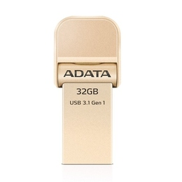 Накопитель USB3.1 A-Data AI920 i-Memory 32Гб Gold