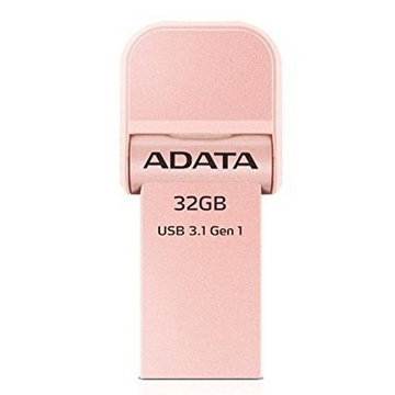 Накопитель USB3.1 A-Data AI920 i-Memory 32Гб Rose Gold
