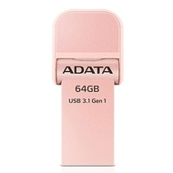 Накопитель USB3.1 A-Data AI920 i-Memory 64 гб Rose Gold