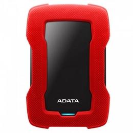 """Внешний жесткий диск 1 TB A-Data HD330 Red (2.5"""", USB3.1, силиконовый чехол, вибродатчик)"""