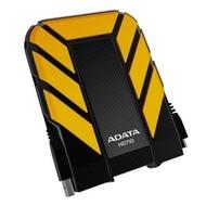 """Портативный HDD 1 TB A-Data HD710 Yellow (2.5"""", USB3.0, пластиковый корпус, водонепроницаемый, противоударный)"""
