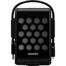 """Внешний жесткий диск 1 TB A-Data HD720 Black (2.5"""", USB3.0, прорезин. корпус, водонепроницаемый, антишок (1.8м) противоударный)"""