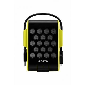 """Внешний жесткий диск 1 TB A-Data HD720 Green Yellow (2.5"""", USB3.0, прорезин. корпус, водонепроницаемый, антишок (1.8м) противоударный)"""