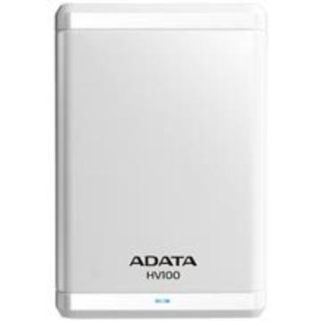 "Внешний жесткий диск 1 TB A-Data HV100 White (2.5"", USB3.0)"