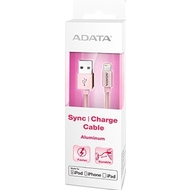 Кабель A-DATA Lightning-USB Rose Gold (USB, Lightning, металлический, 1м)