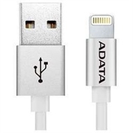 Кабель A-DATA Lightning-USB Alum Silver (USB, Lightning, металлический, 1м)