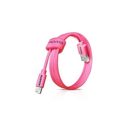 Кабель A-DATA Lightning-USB Pink (USB, Lightning, 1м)