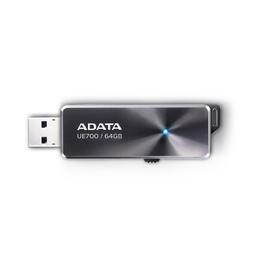 Флешка USB 3.0 A-Data UE700 64 гб Black