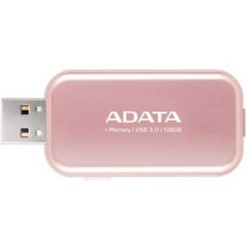 Флешка USB 3.0 A-Data UE710 i-Memory Elite 128гб Rose Gold