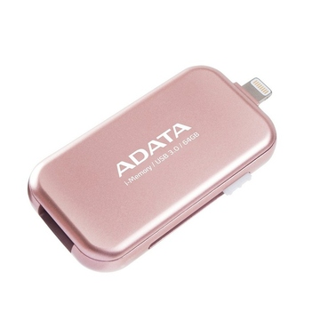 Флешка USB 3.0 A-Data UE710 i-Memory Elite 64 гб Rose Gold