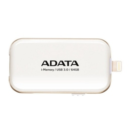 Флешка USB 3.0 A-Data UE710 i-Memory Elite 64 гб White