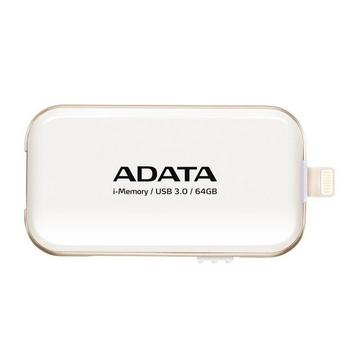 Флешка USB 3.0 A-Data UE710 i-Memory Elite 64 гб White