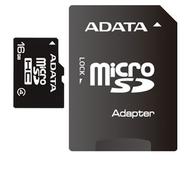 MicroSDHC 16Гб A-Data Класс 4 (адаптер)