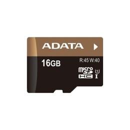 MicroSDHC 16Гб A-Data UHS-I Класс 10 (без адаптера)