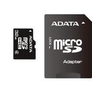 MicroSDHC 32Гб A-Data Класс 4 (адаптер)