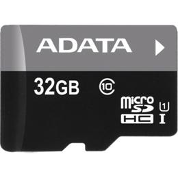 MicroSDHC 32Гб A-Data Класс 10 UHS-I Premier (без адаптера)