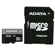MicroSDHC 32Гб A-Data Класс 10 UHS-I Premier (с адаптером)
