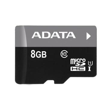 MicroSDHC 08Гб A-Data Класс 10 UHS-I (без адаптера)