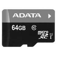 MicroSDXC 64Гб A-Data Класс 10 UHS-I Premier (без адаптера)
