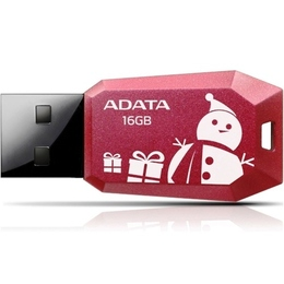 A-Data UV100 16 Гб Red Christmas