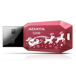 A-Data UV100 32Гб Red Christmas