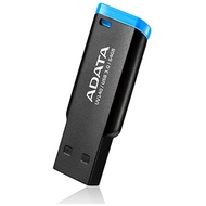 Флешка USB 3.0 A-Data UV140 64 гб Black Blue