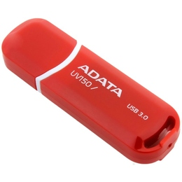 Флешка USB 3.0 A-Data UV150 16 Гб Red