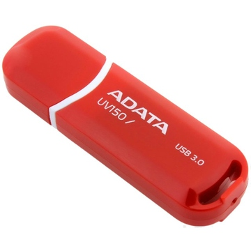 Флешка USB 3.0 A-Data UV150 64 гб Red