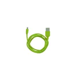 Кабель CBR Human Friends Super Link Rainbow L Green (USB, Lightning, 1м)