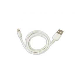 Кабель CBR Human Friends Super Link Rainbow L White (USB, Lightning, 1м)