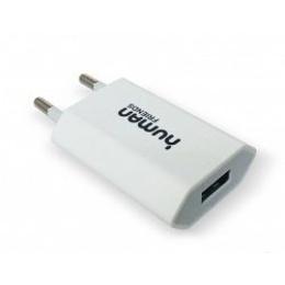 Зарядное устройство CBR Human Friends 220V to USB Flower White (сетевое, USB, 1A, без кабеля)