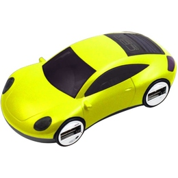 USB-хаб CBR MF-400 Mizuri Yellow (4 USB порта, USB 2.0)