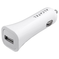 Зарядное устройство Alcatel CC40 White (автомобильное, 1A)