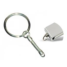 Цепочка Present V5 Silver (с кольцом для флешки)