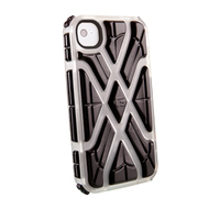 Футляр G-Form X-Protect Ice Black (для iPhone 4S, противоударный, реактивная защита RPT)