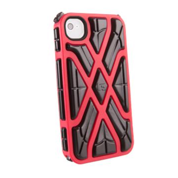 Футляр G-Form X-Protect Red Black (для iPhone 4S, противоударный, реактивная защита RPT)