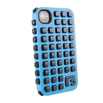 Футляр G-Form Extreme Grid Blue Black (для iPhone 4S, противоударный, реактивная защита RPT)