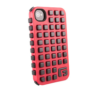 Футляр G-Form Extreme Grid Red Black (для iPhone 4S, противоударный, реактивная защита RPT)