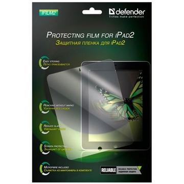 Пленка защитная Defender iFilm2 (для iPad2, глянцевая, защита от царапин, 16304)