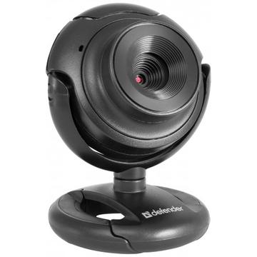 Defender C-2525HD Black (2.0Mp, USB, встроенный микрофон, 63252)